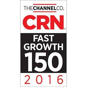 2016 CRN Fast Growth 150 Award Winner