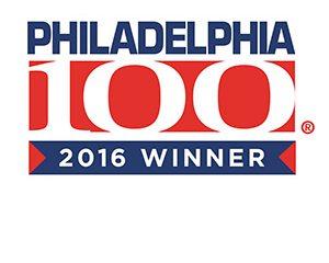 2016 Philadelphia 100 Award Winner