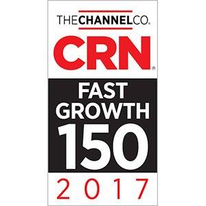 2017 CRN Fast Growth 150 Award Winner